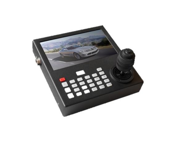 XS-4DX7W车载可视控制键盘(内置NVR)