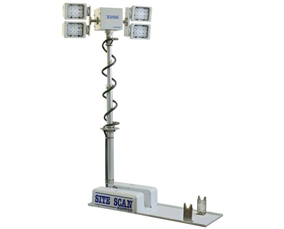 XS-184120车载移动升降照明设备